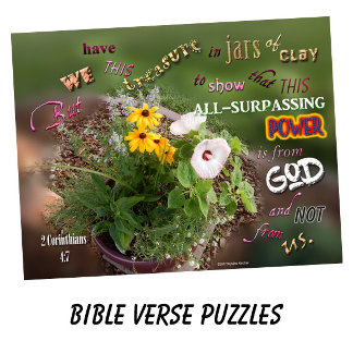 Bible Verse Puzzles