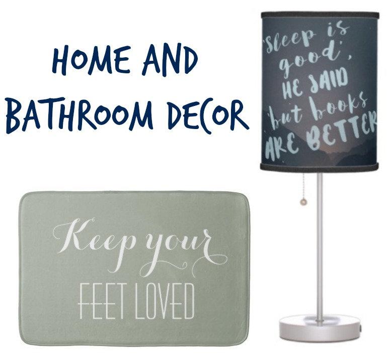 Home and Bathroom Decor