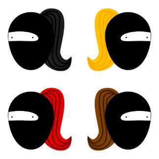 (new!) Ninja Girl Group