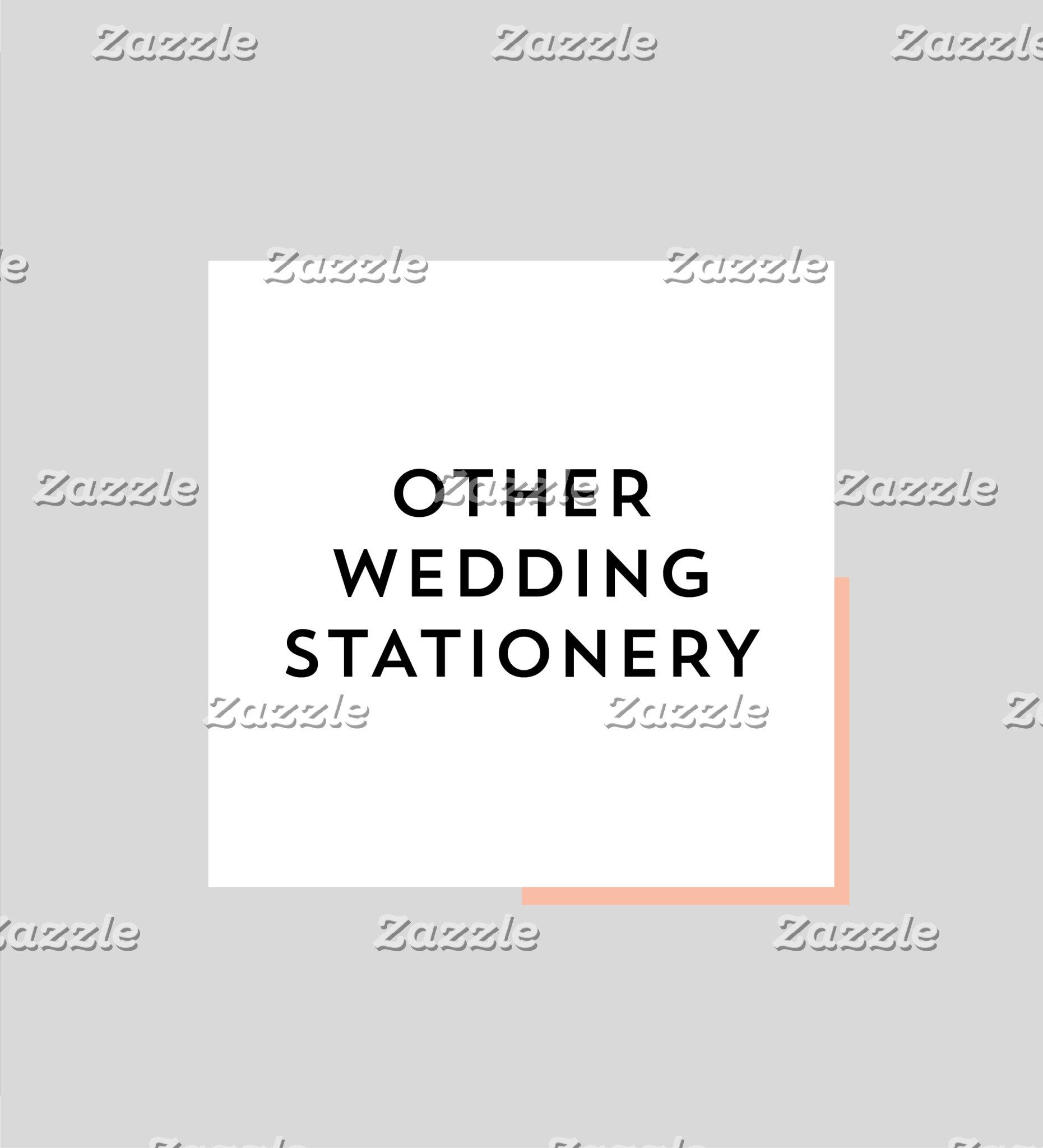 Other Wedding Stationery