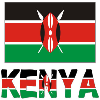Kenyan Flag and Kenya