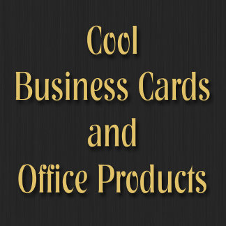 Modern Cool Business Cards and Office Products