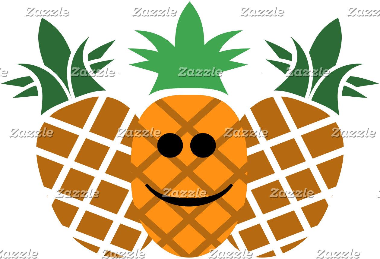 Happy Pineapple Design