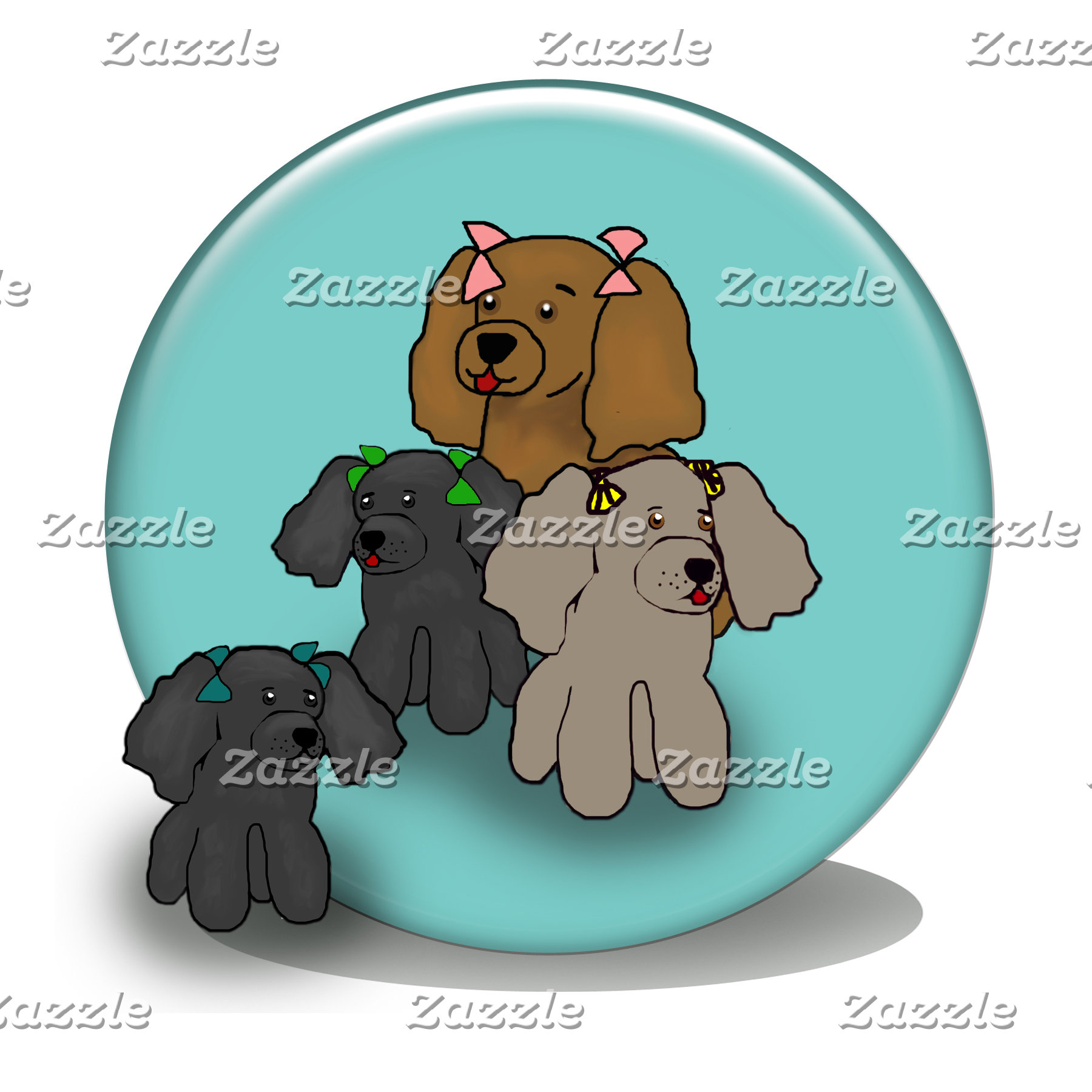Soap Bubble Poodles
