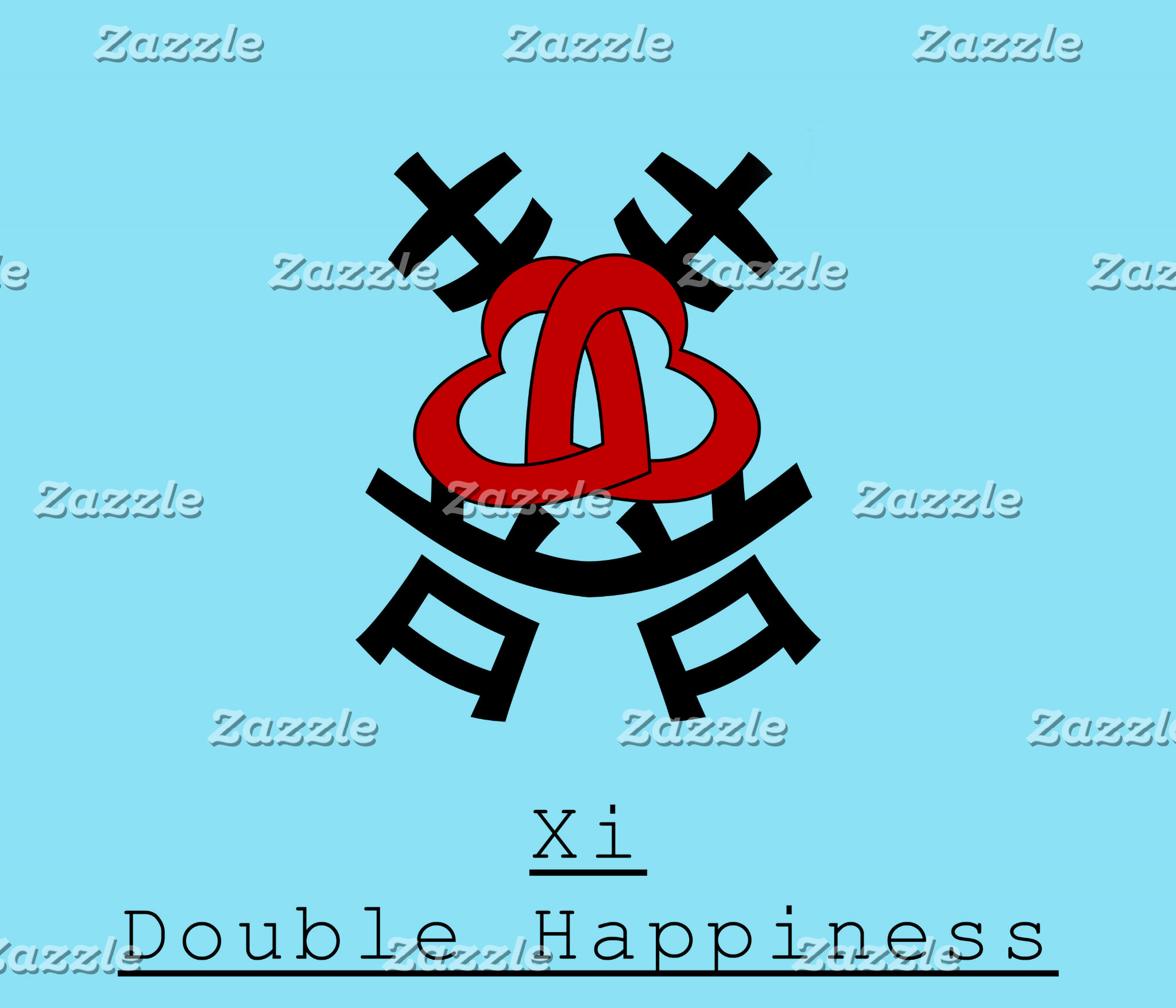 Double Happiness (囍 xi)