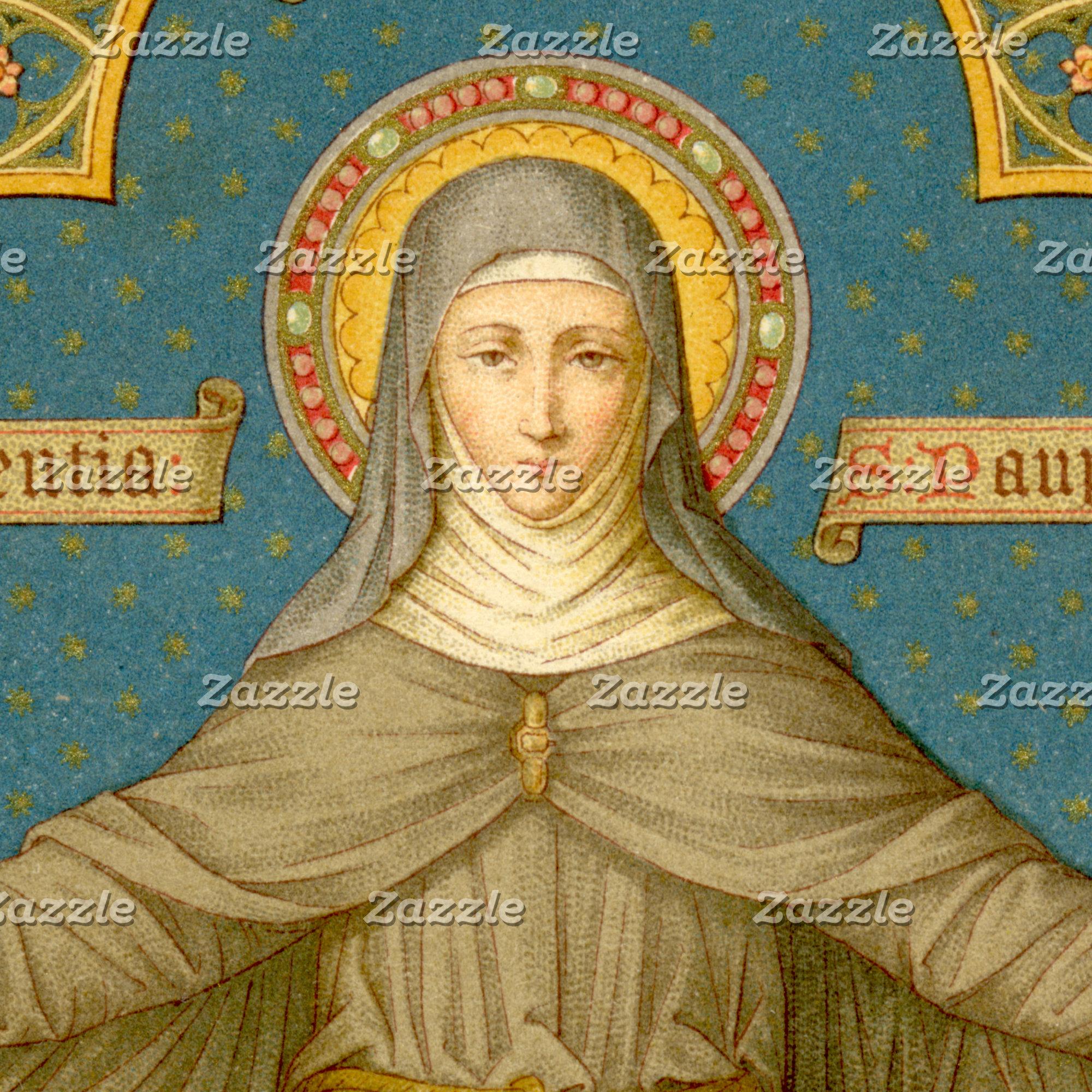 Clare of Assisi & Nuns (SAU 027), Saint