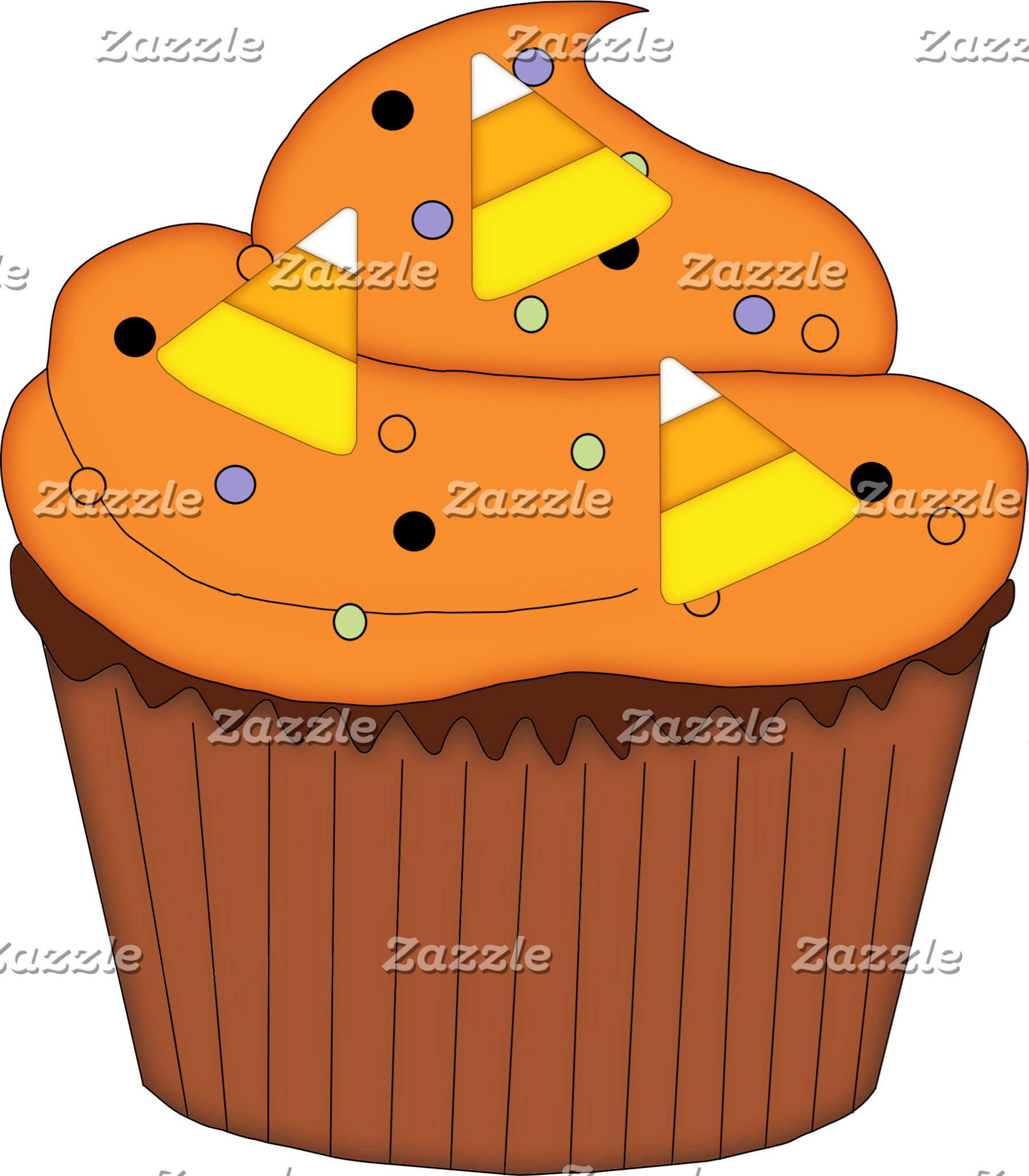 Sweet Halloween Cupcake