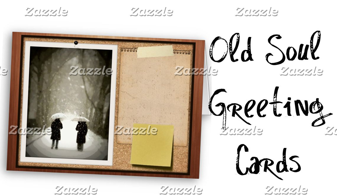 Old Soul Greeting Cards