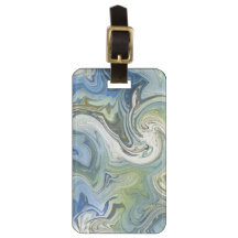 Abstract Luggage and Gift Tags