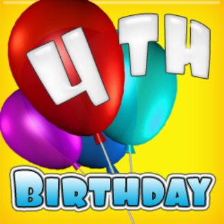 - 4th Birthday (4-year-old)