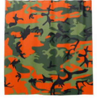 Camouflage Shower Curtains