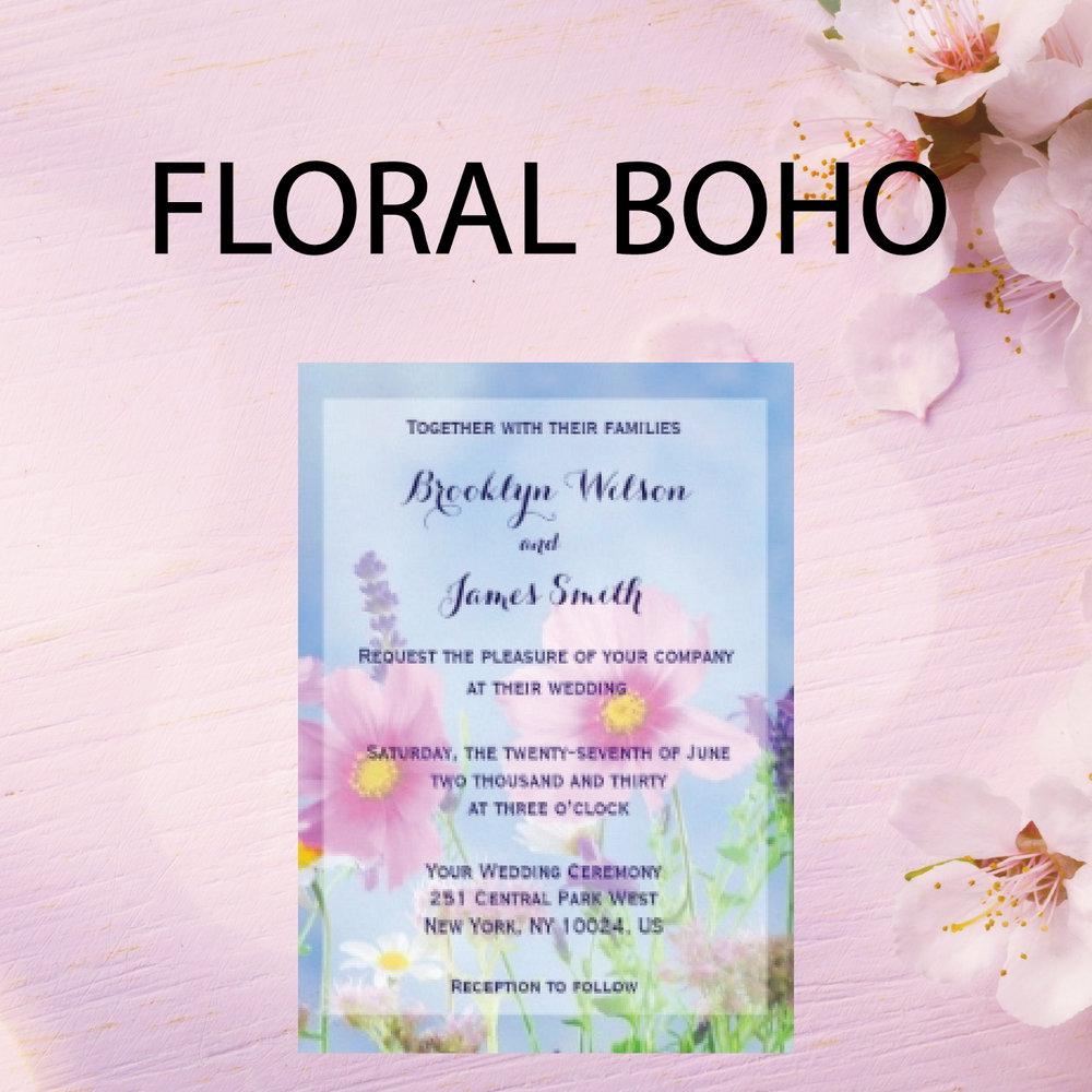 Floral Boho