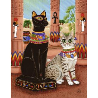 Egyptian Bast Cats