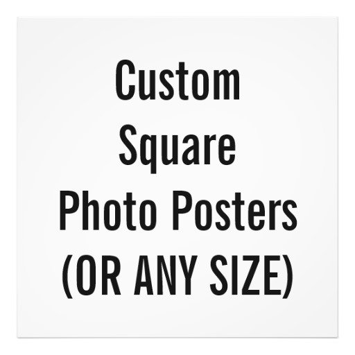 Square Frame Sizes