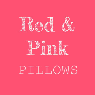 Red & Pink Pillows