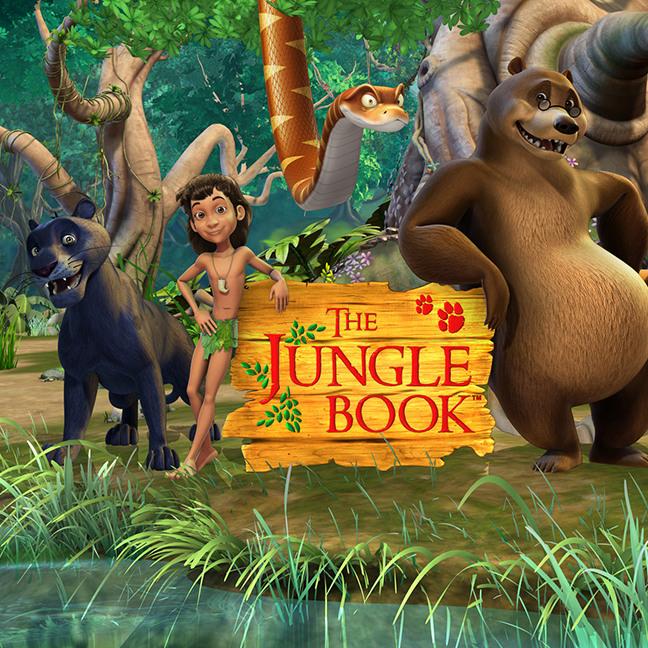 Jungle Book Group Shot