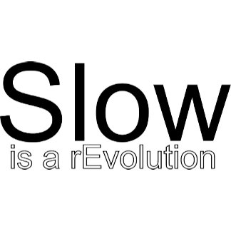 Slow Is a reEvolution