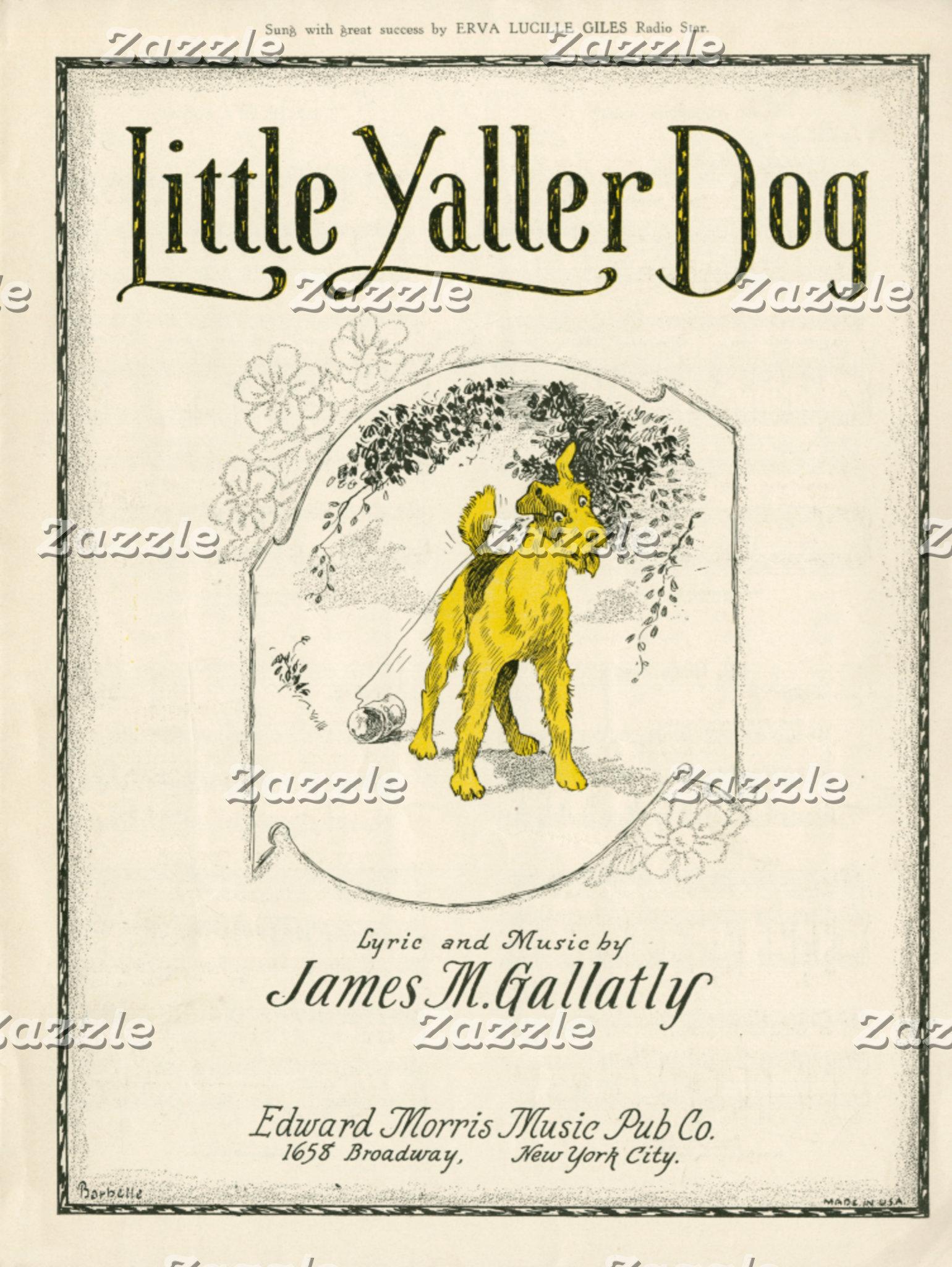 Little Yaller Dog