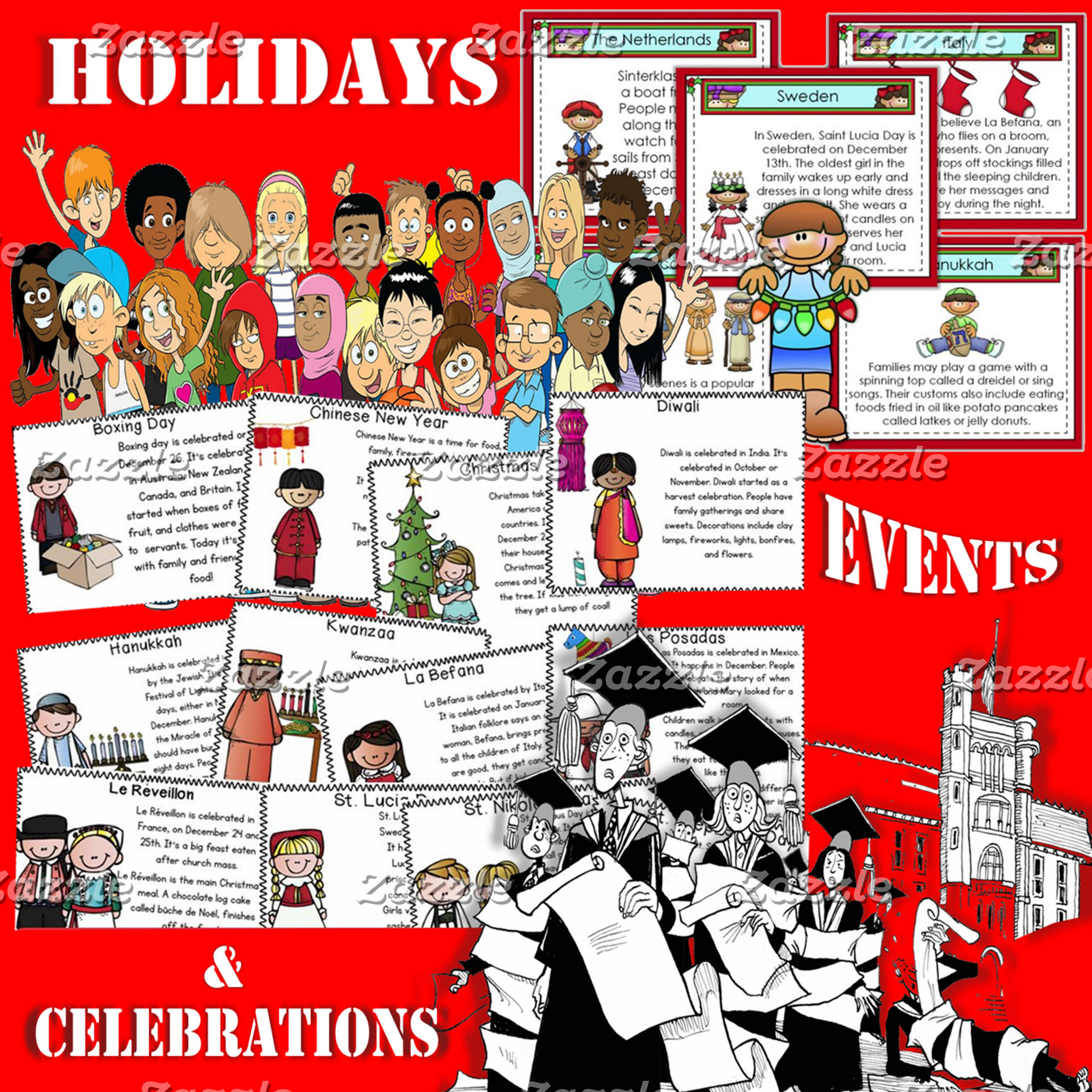 *Holidays, Events, Occasions,