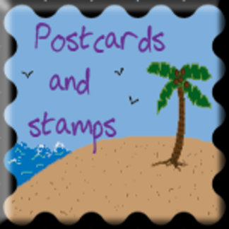 Postcards and Stamps