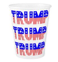 Donald Trump Party Tableware