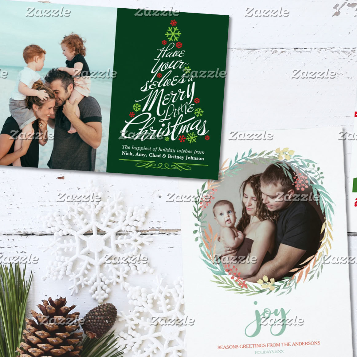 Holiday Flat Cards