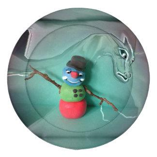 Cold Rigid Snowman Icedragon