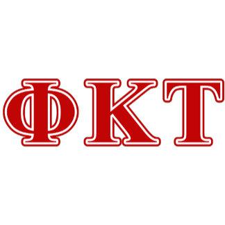 Phi Kappa Tau Red Letters
