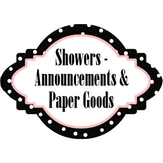 1. SHOWER and ANNOUNCEMENTS