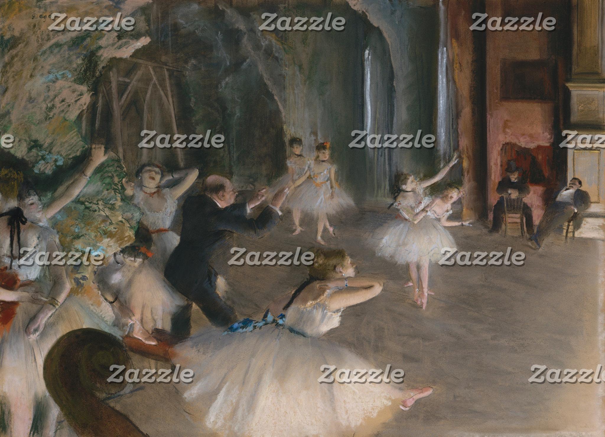 Edgar Degas | Stage Rehearsal