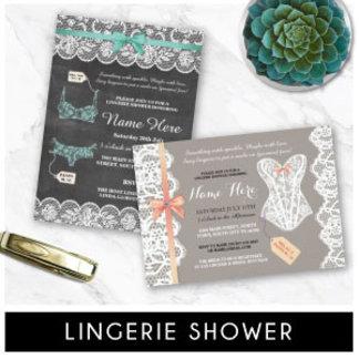 Lingerie Party Invites