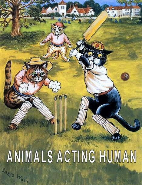 ANIMALS ACTING HUMAN