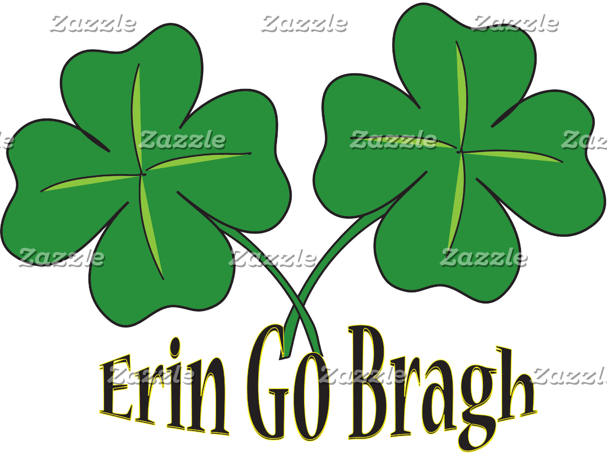 Erin Go Bragh T-Shirt Gifts Cards