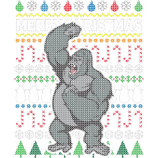 Gorilla Ugly Sweater