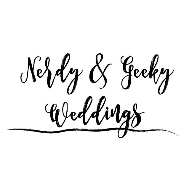 Nerdy and Geeky Weddings