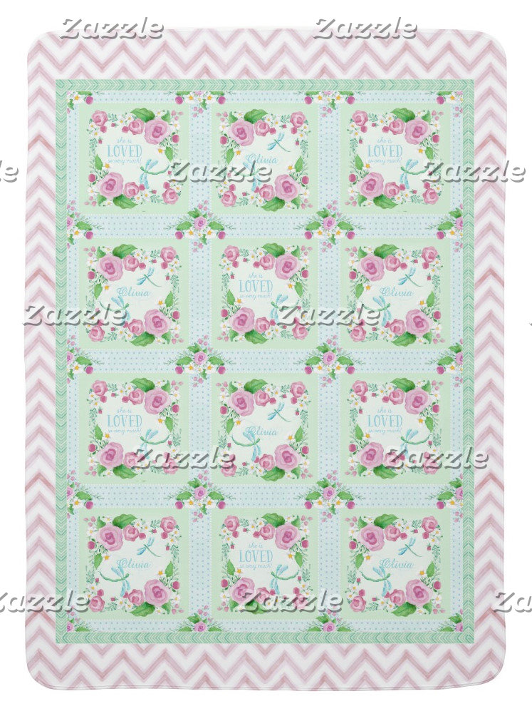 Baby Girl | Dragonfly Floral