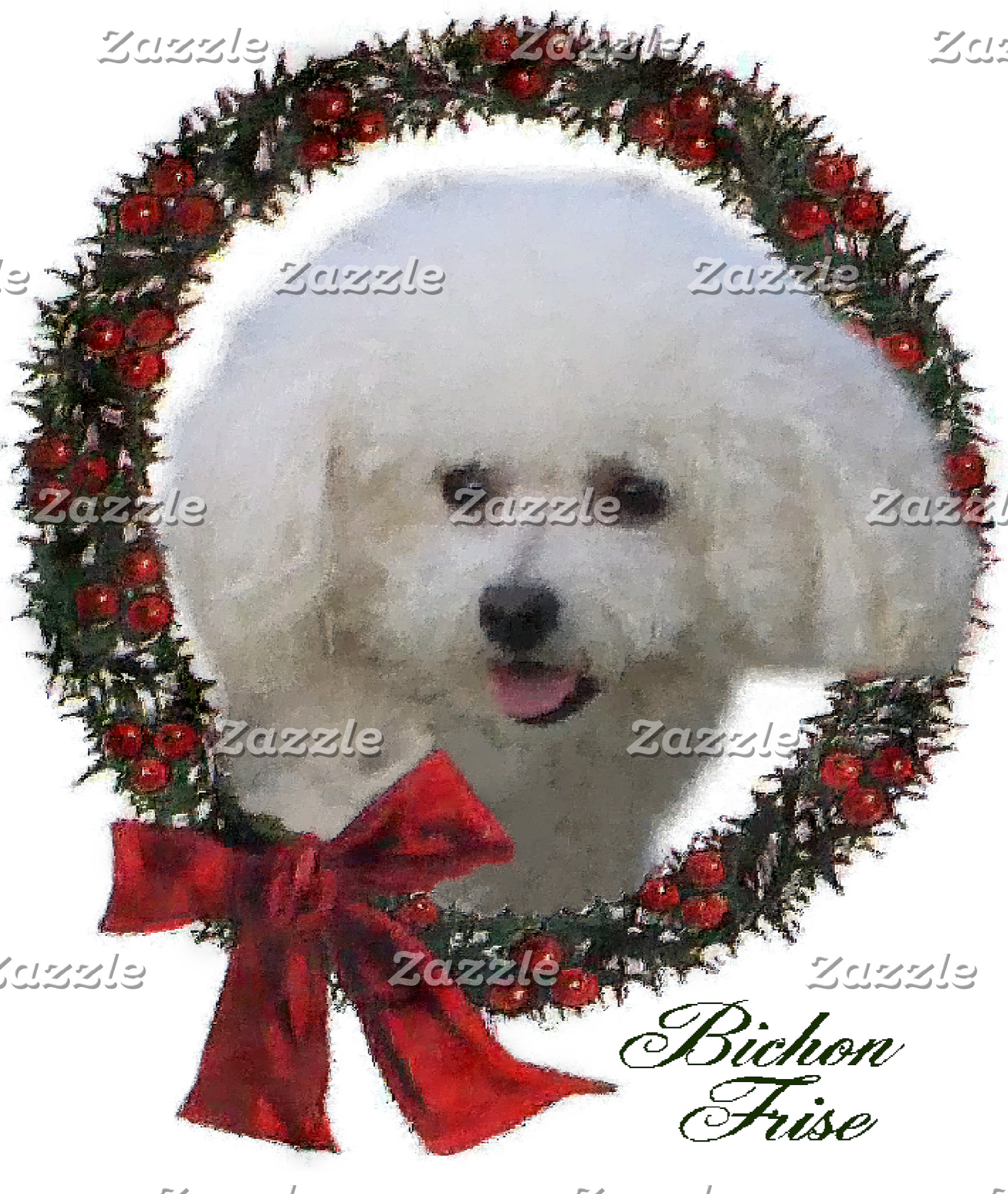 Bichon Frise Christmas