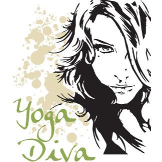 Beautiful Yoga Diva T-Shirt