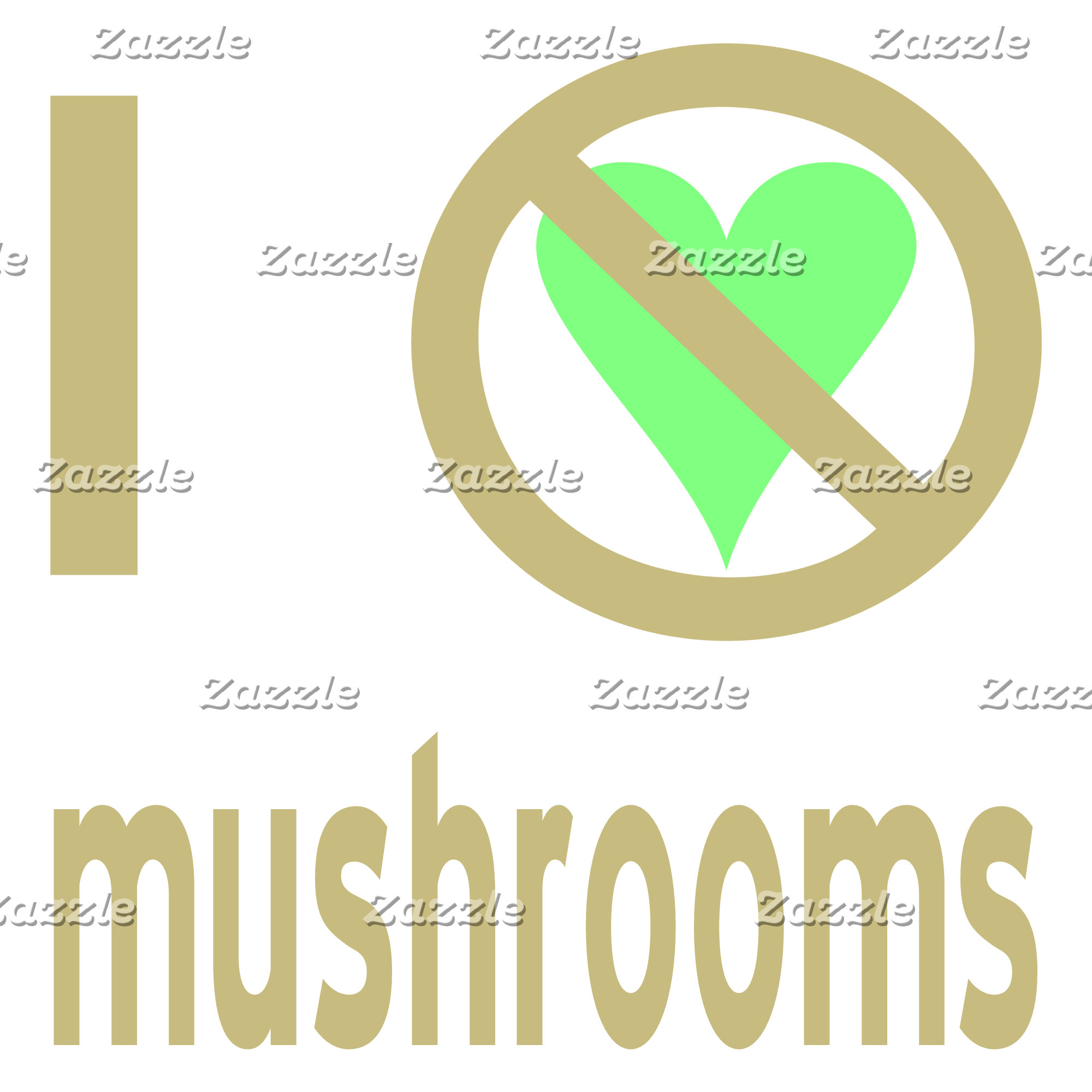 I Hate Mushrooms