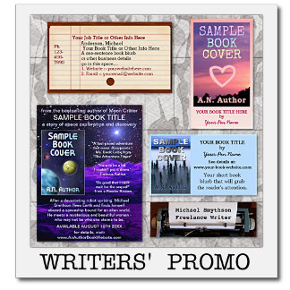 Writers' Promotional Items