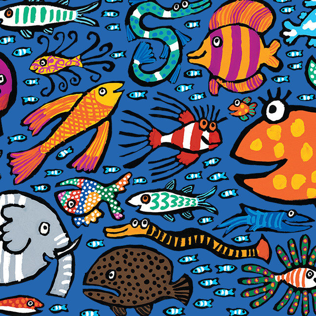 Colorful Fish Friends