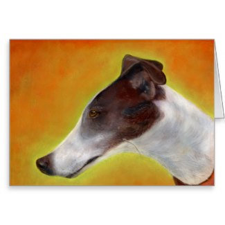 Greyhound art cards