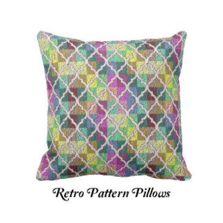 RETRO PATTERN PILLOWS