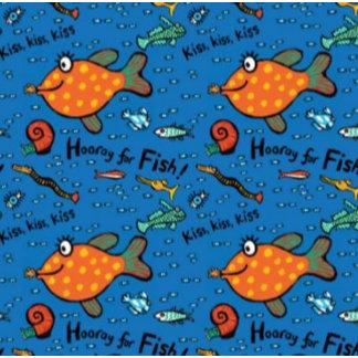 Hooray For Fish Pattern