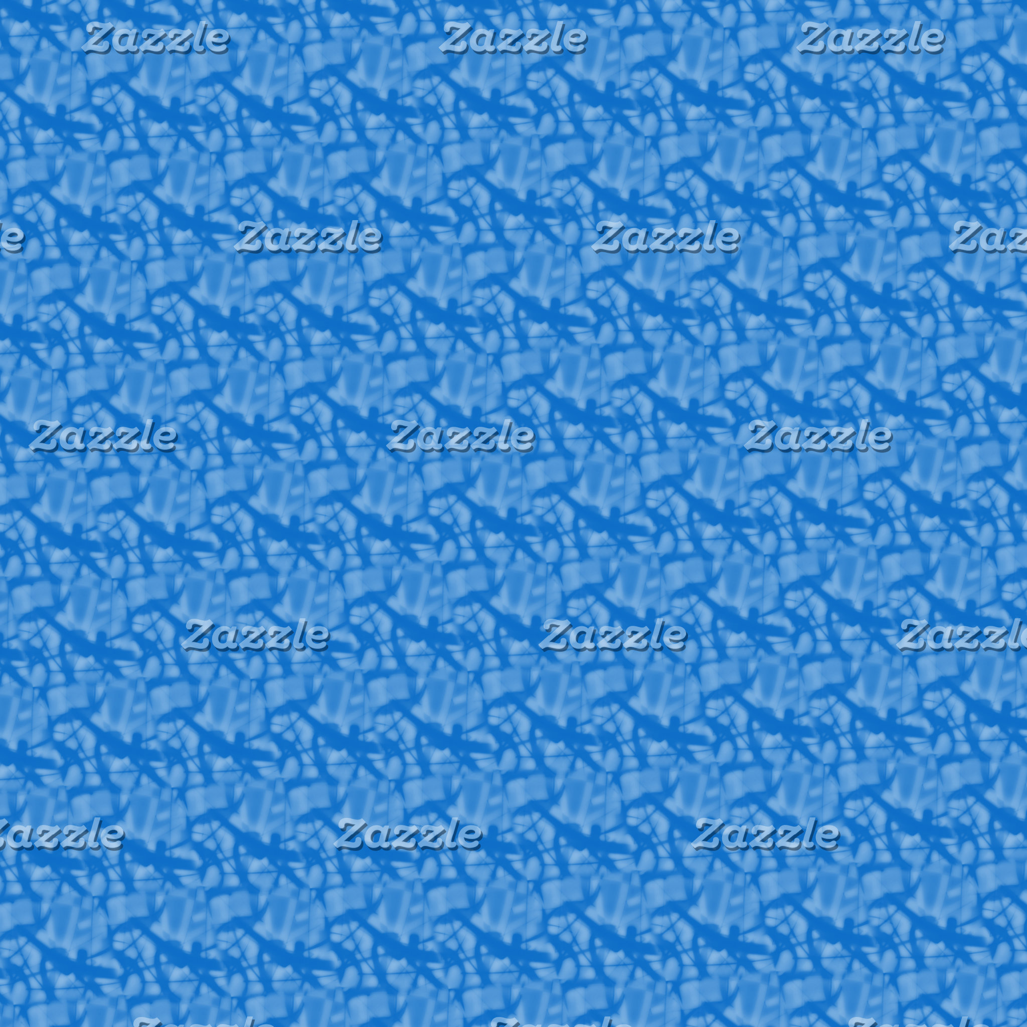 Blue Fractal-style Stuff
