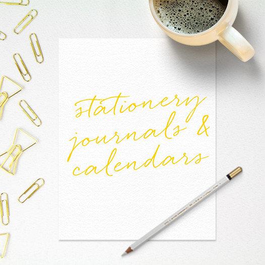 Stationery Journals Calendars
