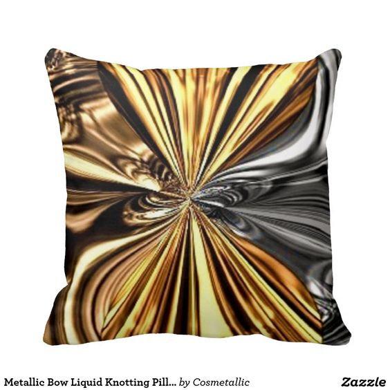Metallic Bow Liquid Knotting