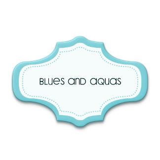 Blues and Aquas