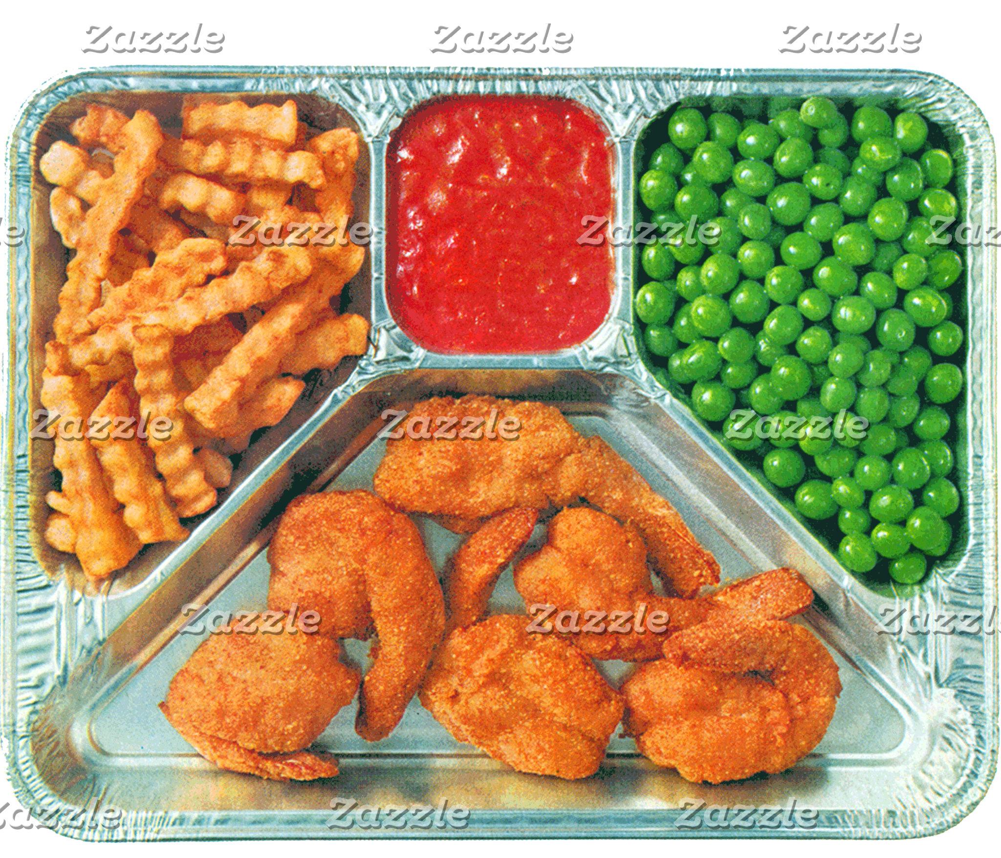 Shrimp T.V. Dinner