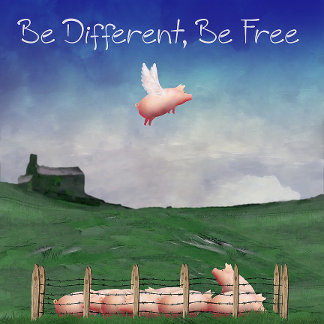 Be Different, Be Free